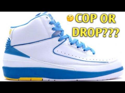 b460445ab7d AIR JORDAN RETRO 2 'MELO' COP OR DROP??🤔 - YouTube