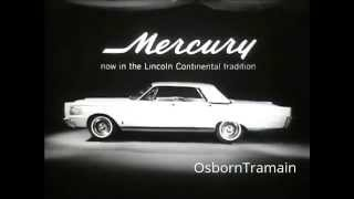 1965 Mercury Commercial - Car Life Award - Alexander Scourby Voiceover?