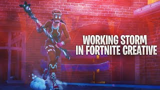 Working Storm In Fortnite Creative (Scrim/Storm Rotations Practice)