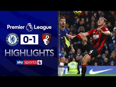 Gosling scores audacious overhead flick | Chelsea 0-1 Bournemouth | Premier League Highlights