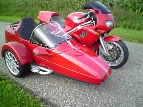 画像: First home build Honda VFR RC36 Sidecar Rig www.youtube.com