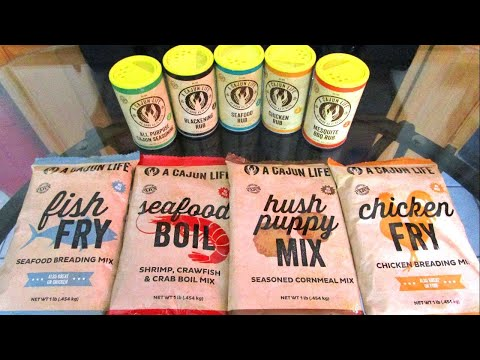 A Cajun life Seasonings and Mixes Review