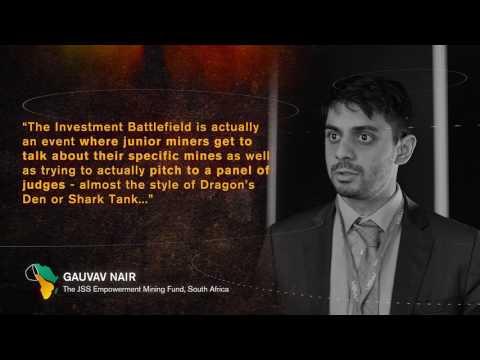 Mining Indaba 2017: Gauvav Nair - The JSS Empowerment Mining Fund