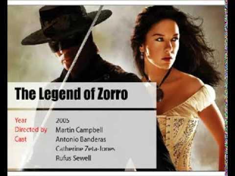 Actress Catherine Zeta-Jones movies list