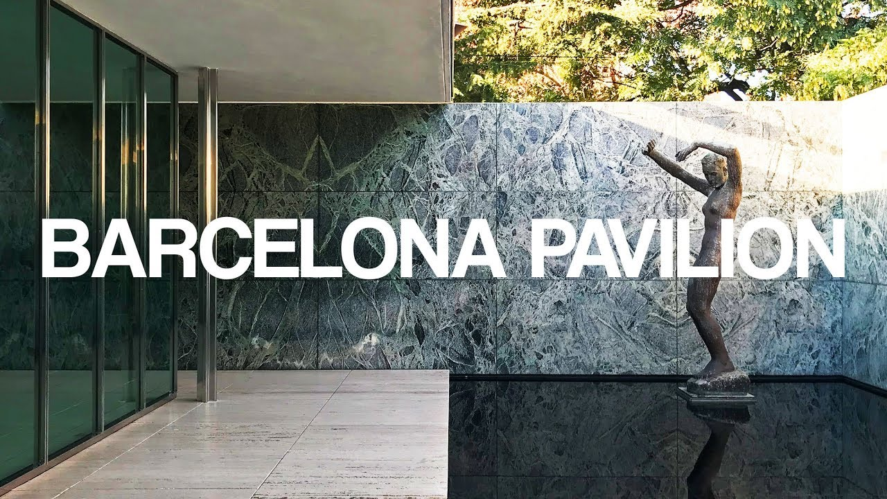 Barcelona Pavilion I Mies Van Der Rohe I A Walk Through In 4k Youtube