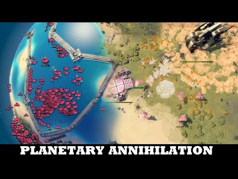 Now that is an Unbeatable Tactic - Planetary Annihilation: Titans
