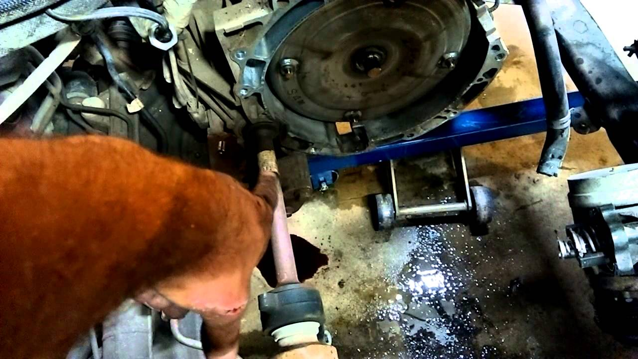 2006 Ford Fusion Engine Removal Out The Top Youtube
