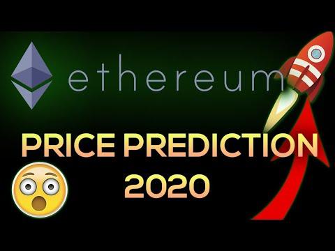 Ethereum 2020 price prediction | ethereum price 2020