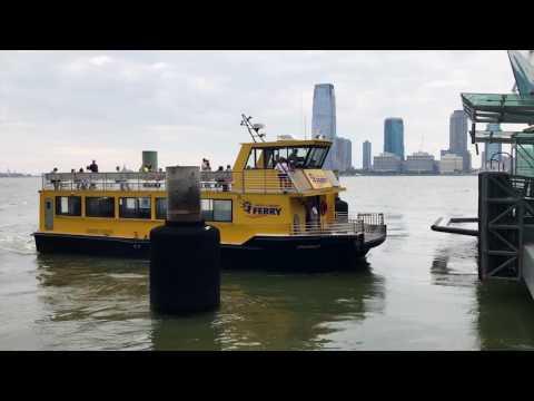 Liberty Landing Ferry Arrival (World Financial Center)