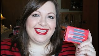 Bite Beauty High Pigment Lip Pencil Set: Lip and Hand Swatches Thumbnail
