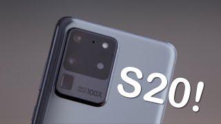 Rasanya nyobain Samsung Galaxy S20, S20 Plus, dan S20 Ultra!