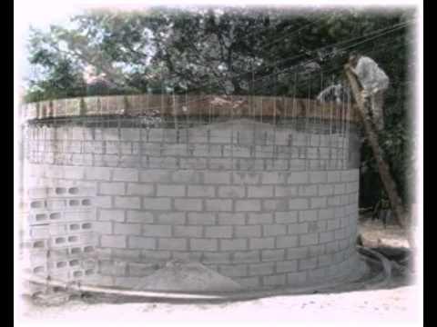 Water tank construction, Engineers Without Borders, Las Delicias, El Salvador