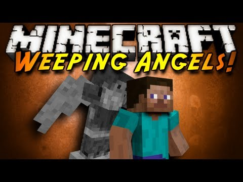 Minecraft Mod Showcase : WEEPING ANGELS!