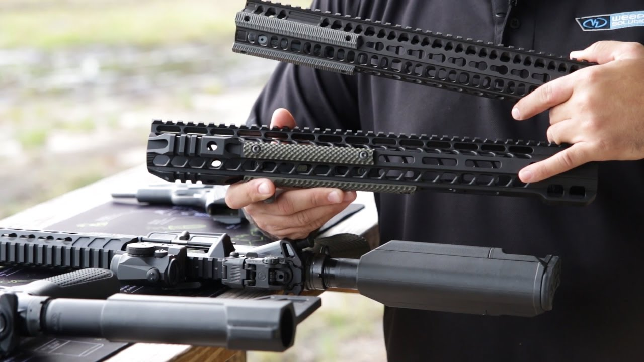 VZ Grips changes the way you grip your AR!! #Big3East - YouTube
