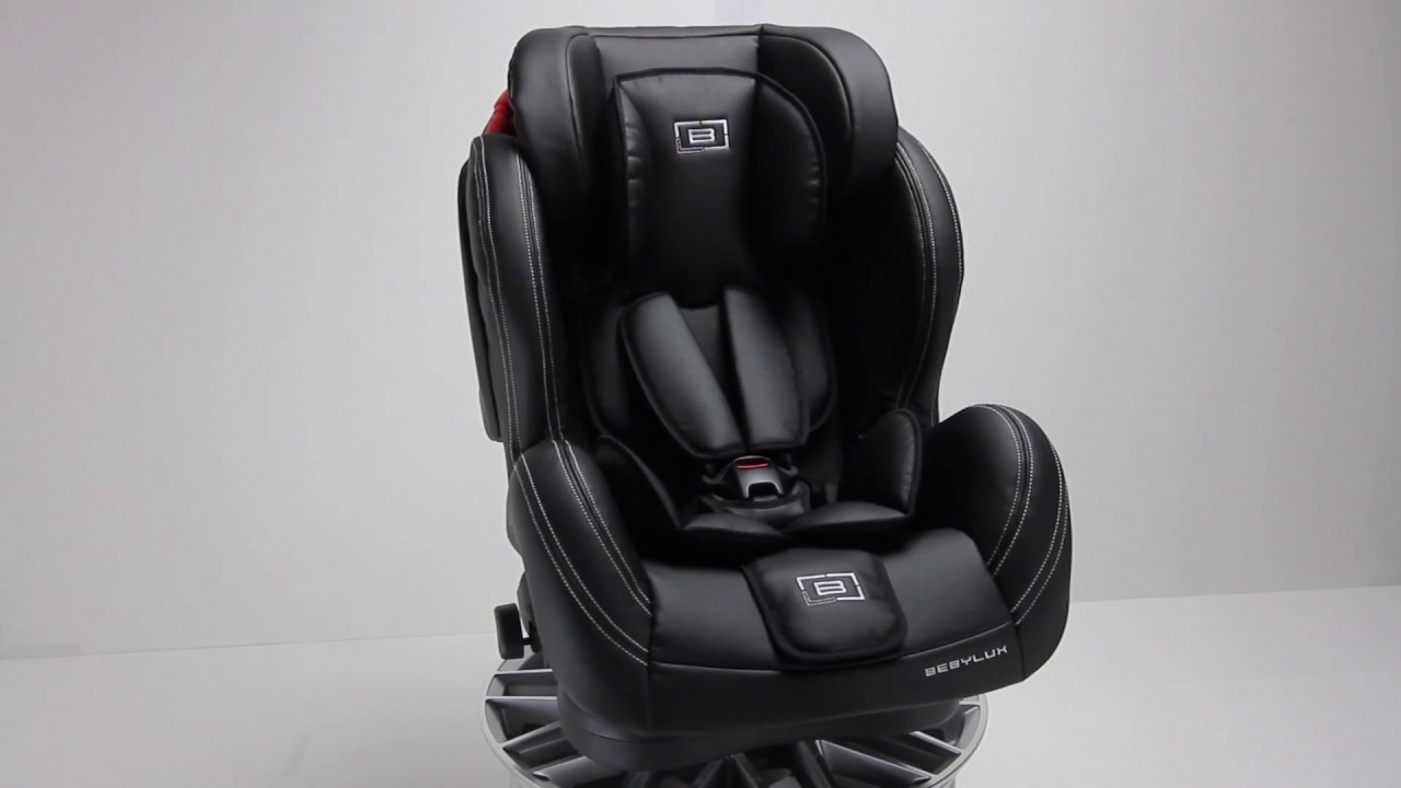 Alexa Group 123 Classico Bianca Luxury Leather Isofix Car Seat