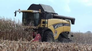 Młócenie kukurydzy 2011 (Full HD)