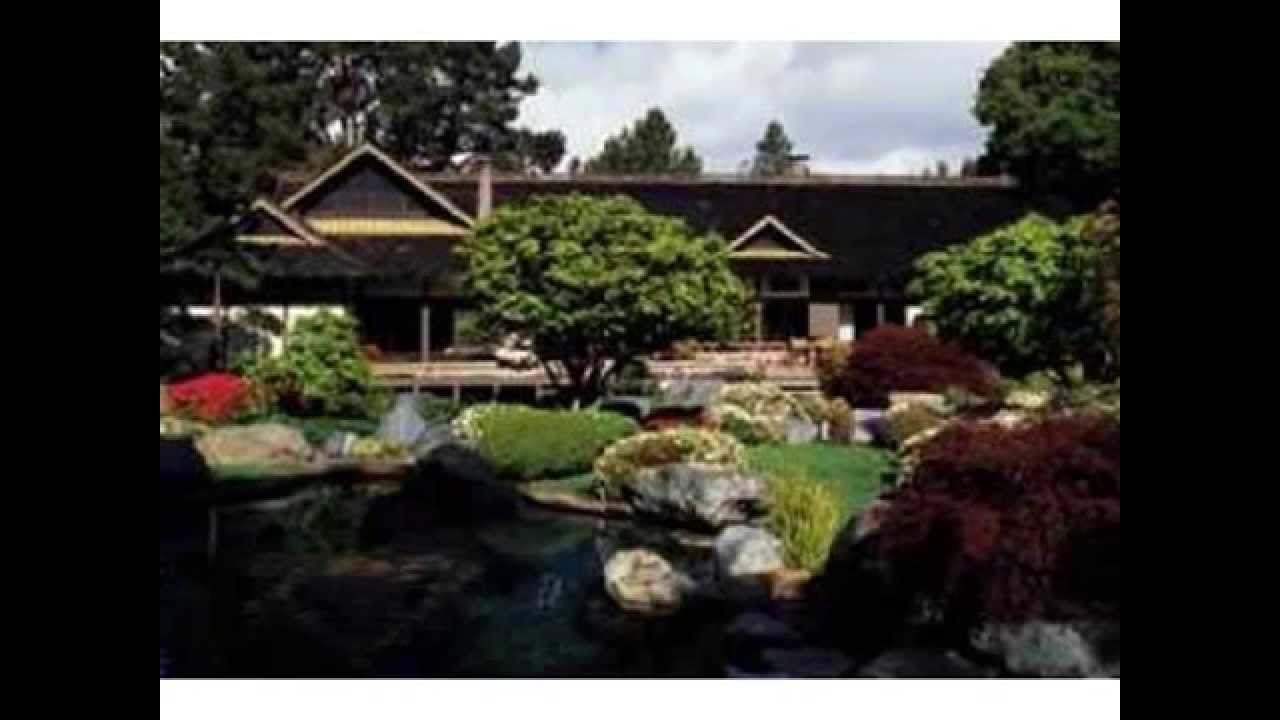 Japanese Style Home larry ellison's japanese style home in woodside, calif - youtube
