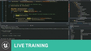 C++ Plugin Based State Machine: Game Code  | 01 | Live Training | Unreal Engine