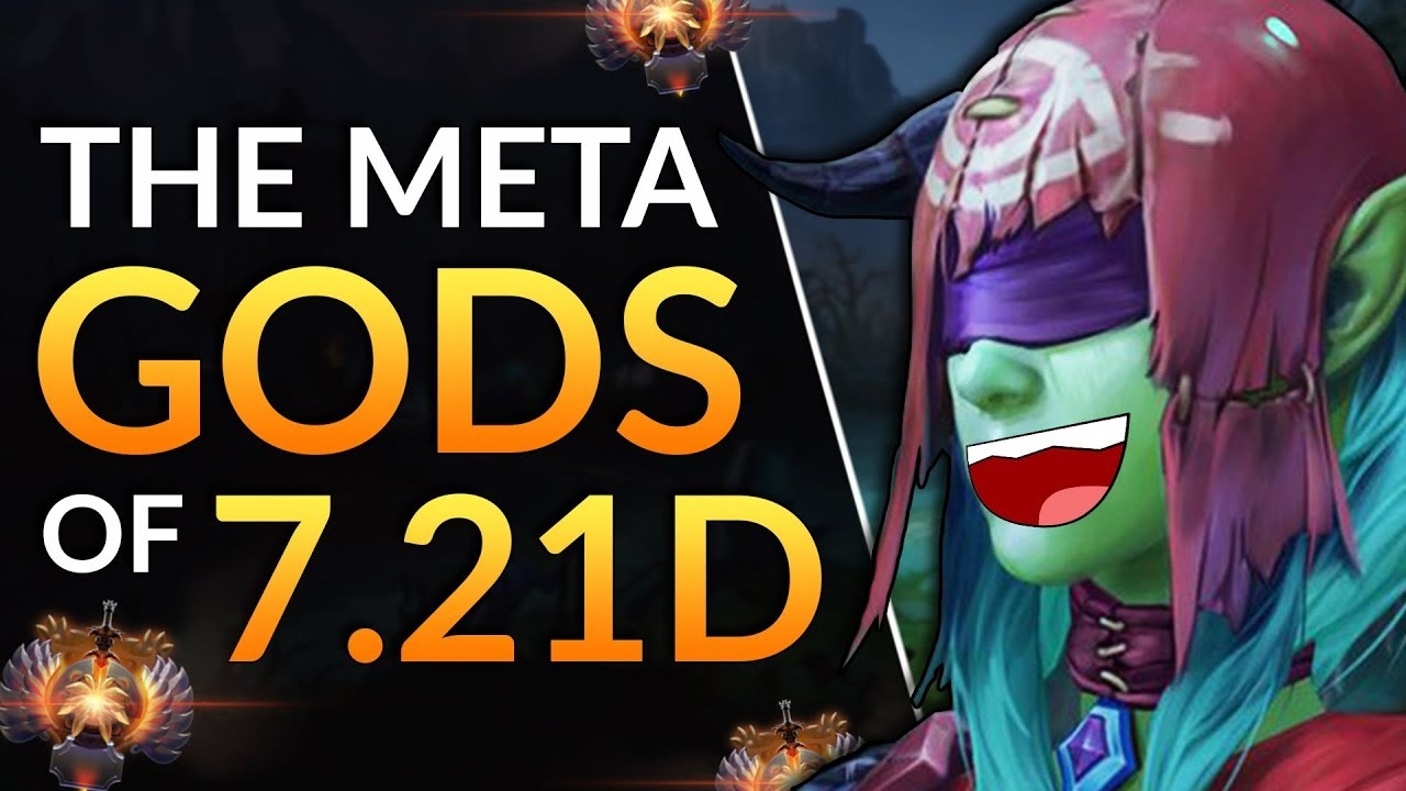 Try These Op Heroes In 7 21d Tier List Tips Pick To Carry Dota 2 Meta Guide Youtube