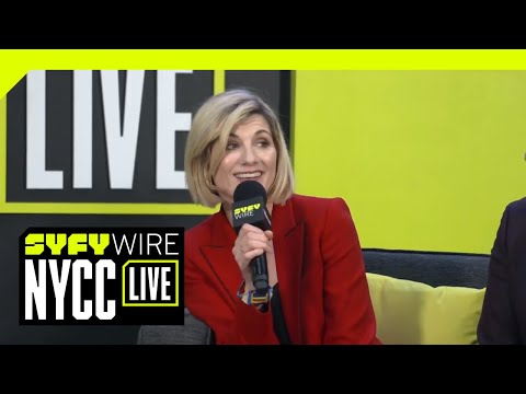 Doctor Who's Jodie Whittaker On Radical Change, Tears And Joy | NYCC 2018 | SYFY WIRE