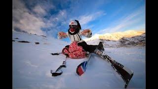 Курорт Эльбрус один из лучших курортов России для катания на сноуборде