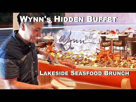 Hidden Brunch Buffet At Wynn Las Vegas @ Lakeside Seafood Brunch Buffet
