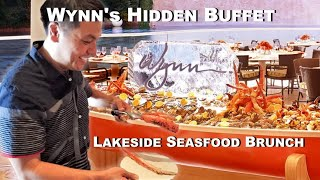 Hidden Brunch Buffet at Wynn Las Vegas @ Lakeside Seafood Brunch Buffet