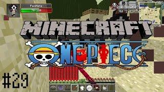 Minecraft วันพีช ThePirateAge #29 ผลความมืดเเละสั่นไหว vs CP9