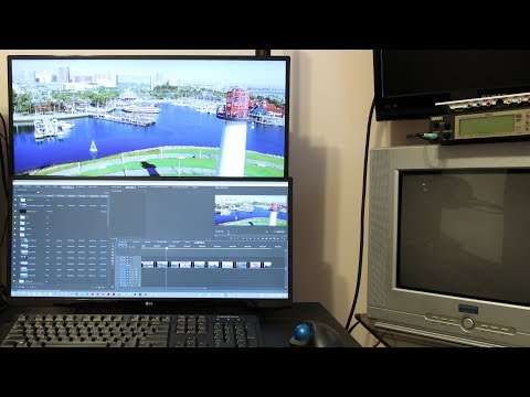 Premiere Pro Dual Monitor Setup for Mac and PC
