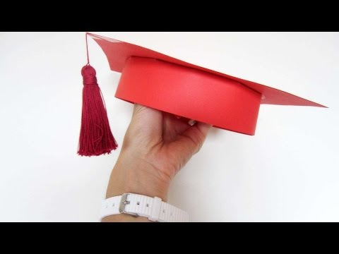 How To Make A Carboard Grad Hat For Your Children - DIY Crafts Tutorial - Guidecentral