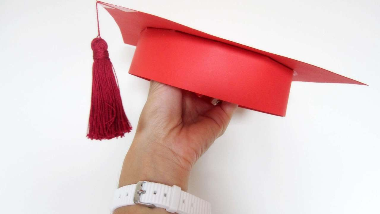 Pics photos how to draw a graduation hat - How To Make A Carboard Grad Hat For Your Children Diy Crafts Tutorial Guidecentral Youtube