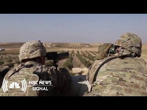 President Donald Trump Defends Decision To Withdraw From Syria | NBC News Signal Mp3