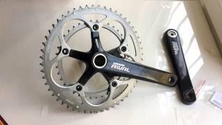 Обзор системы Sram RIVAL / Review SRAM RIVAL cranks / велозапчасти