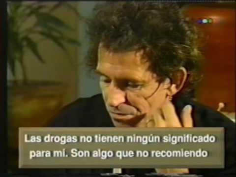 Keith Richards - Entrevista Juan Alberto Badía (Octubre 1992 Argentina) Telefé
