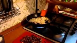 Кухня.Картофельная запеканка с фаршем.