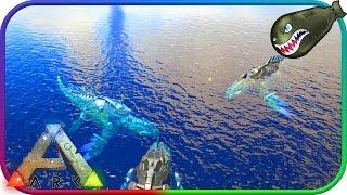 Ark: Survival Evolved | TEK Mosa vs. TEK Rex, TEK Battles (Ark Survival Evolved)