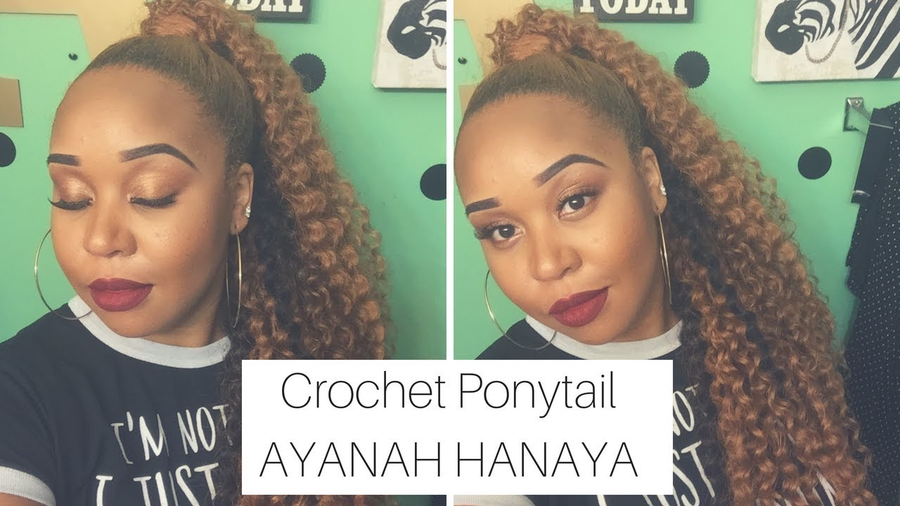 How to do a crochet ponytail