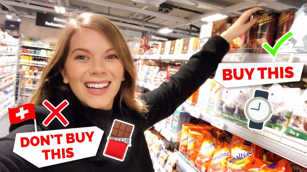 Switzerland | What to buy (plus what NOT to buy) on your trip