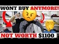 RANT: 5 Reasons I WON''T BUY NIKE JACKETS ANYMORE!! (Not Worth $1100)