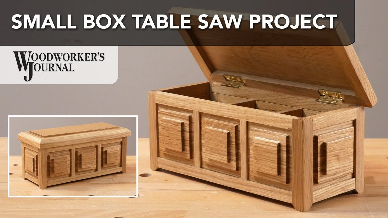 Small Box Table Saw Project