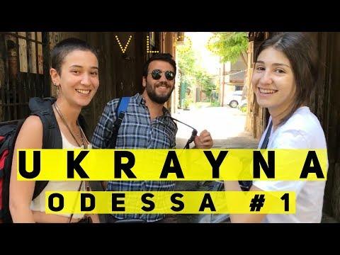 ODESSA VLOG - Ukrayna'nın sudan ucuz tatil şehri  | Bölüm 1