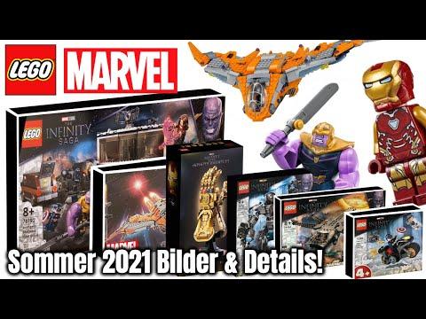 Endlich mal gute Marvel Sets! | LEGO 'Avengers & Infinity Saga' 2021 Set Bilder & Infos!