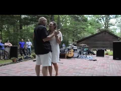 Red Peters- Daughter Surprises Father At Wedding With Special Song