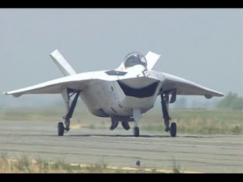 Boeing X-32A/B JSF competition video compilation (part 1)