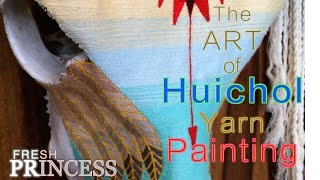 Mexican Indigenous Art: Huichol Yarn Painting | Fresh P