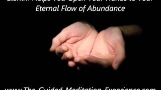 Elohim Helps You Open Your Hands to Your Eternal Flow of Abundance