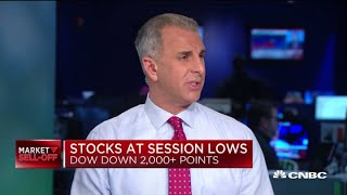 The lower the market goes, the more people have to sell, which exacerbates downside: Adami