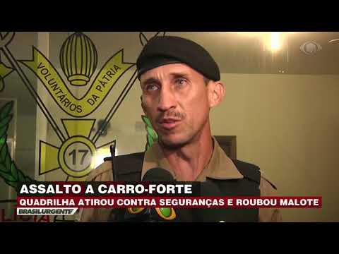 MG: Quadrilha atira contra seguranças e rouba malote
