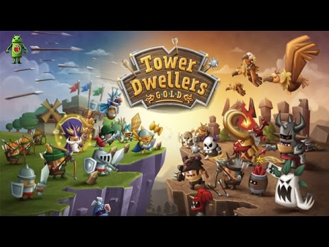 Tower Dwellers Gold (iOS/Android) Gameplay HD