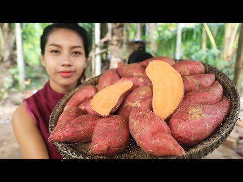 Yummy cooking dessert sweet potato recipe - Cooking skill
